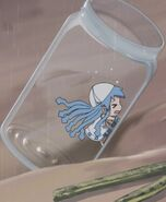 Mini Ika in a bottle