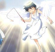 Nagisa as an angel