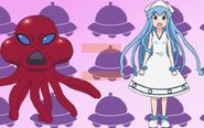 Squid Girl = Squid Alien