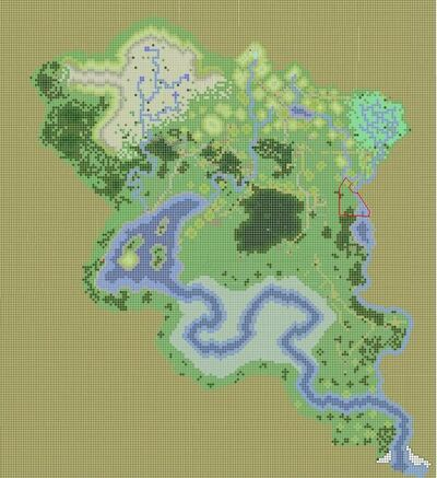 Domain map