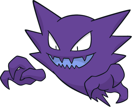 Haunter Shiny Pokemon Wiki Fandom Powered By Wikia