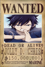 Jolly D. Chris' Wanted Poster