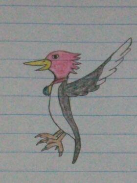 Percival Woodpecker Color