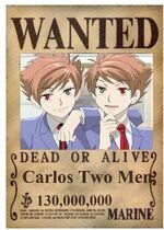 Wanted Poster Carlos