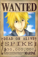 Spike's Wanted Poster