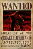 Drake's Wanted Poster