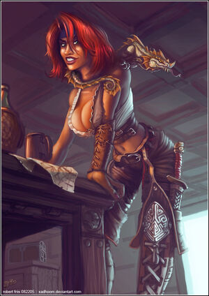 Adjanah the Pirate FINISHED by xadhoom