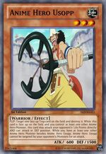 Anime Hero Usopp