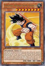 Anime Hero Son Goku