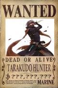 Tarakudo's Wanted Poster