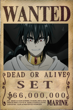 Set's Wanted Poster