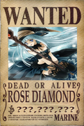 Rose Diamond's Wanted Poster