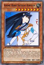 Anime Hero Satsuki Kiryuin
