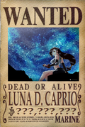 Luna D. Caprio's Wanted Poster