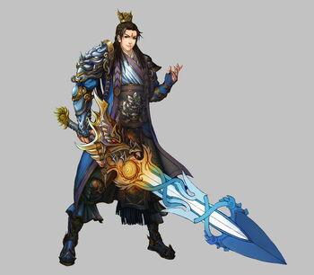 Swordsman by zero position art-d3eh7yh