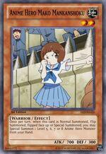 Anime Hero Mako Mankanshoku
