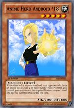 Anime Hero Android 18