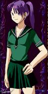 Zelda Beryl - Human Form in Sailor Fuku
