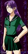 Zelda Beryl - Human Form and Hair Undone in Sailor Fuku