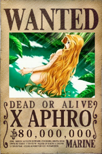 X Aphros Wanted Poster