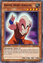 Anime Hero Krillin