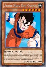 Anime Hero Son Gohan