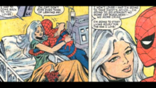 Felicia declares her love for the spider and announces that she has decided to change her life for him.