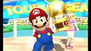 Mario Power Tennis - Mario's Celebration