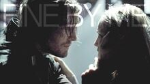 Oliver Queen + Sara Lance Fine by Me