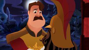 Cap Adoptining Little Cassandra in Rapunzel's Return
