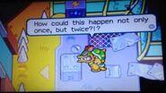 Mario and Luigi Superstar Saga - Luigi and Prince Peasley funny scene