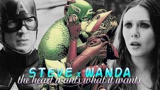 » the heart wants what it wants (steve rogers x wanda maximoff)