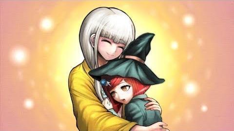 Danganronpa V3 Killing Harmony Angie hugs Himiko
