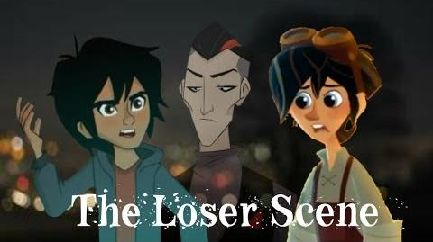 The Loser Scene Hiro and Varian (Be More Chill AU)