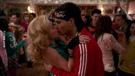 Barry and Lainey first kiss
