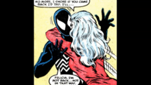 Felicia is happy to see Peter again