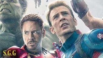 Iron Man & Captain America Love And Civil War - Stony