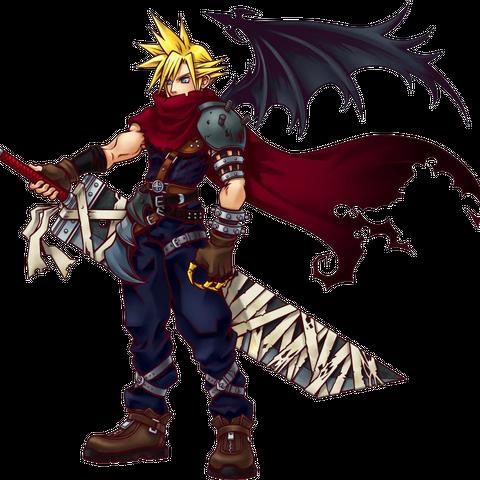 Cloud in <i>Kingdom Hearts I</i>, <i>Chain of Memories</i> and <i>Re:Coded</i>
