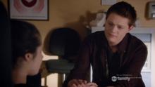 Emmett at Bay's bedside