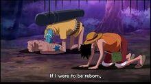 Sanji Makes Fun of Zoro - One Piece Funny Moment