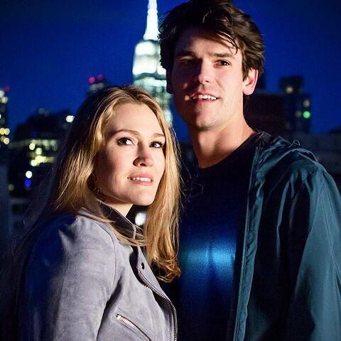 Original Broadway Cast: Chris McCarrell (Percy) & Kristin Stokes (Annabeth)