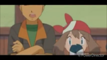 May shows more hope in Ash's victory than in his father's.