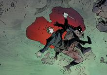 Endgame Joker and Batman in Bloody Heart