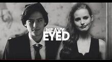 Jughead + Cheryl Heavy eyed