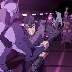 Shiro acts bloodthirsty…