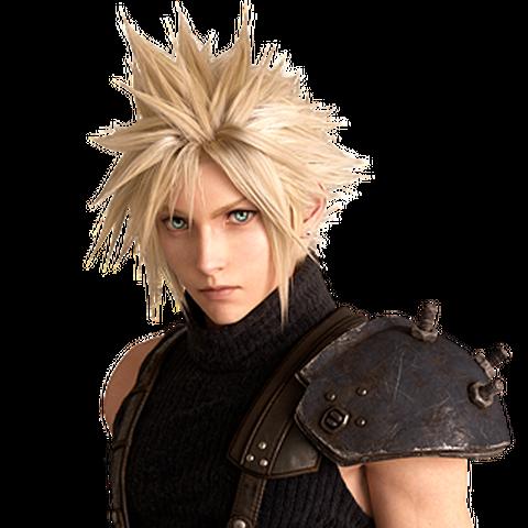 Cloud in the <i>Final Fantasy VII</i> remake