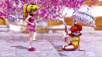 MMD MEME Peach & Daisy - BURNT RICE