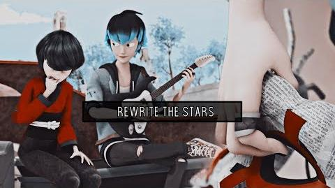 LUKAGAMI Kagami x Luka Rewrite the Stars