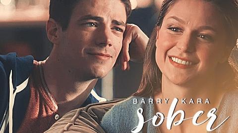 Barry and Kara Sober