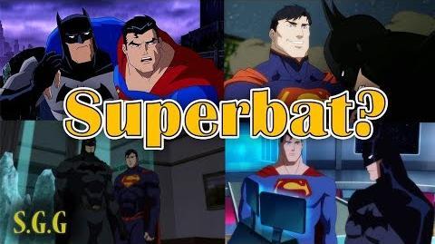 Superman- SuperBat Most Shippable Moments - DC Original Movies